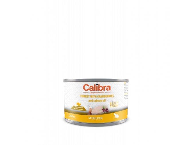calibra cat konzsterilised kruta 200 g