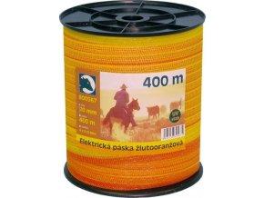 Páska žlutooranž. 2cm 400m