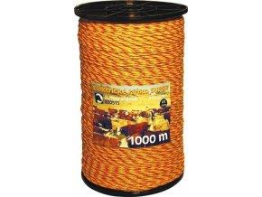 Lanko žlutotoranžové 3mm 1000m