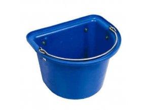 Žlab závěsný s držáky modrý 1