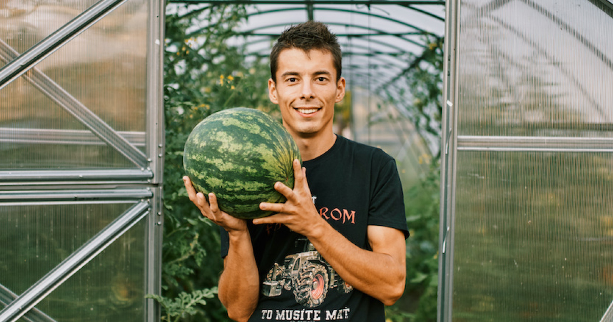 Radovan Horný: Som tu pre tých, ktorí chcú poznať svojho pestovateľa, pôvod svojho jedla