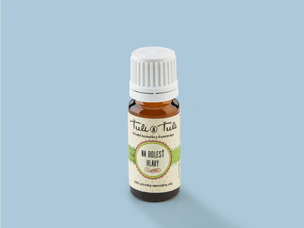 Esencialny olej na bolest hlavy ZeZahora lokalne potraviny