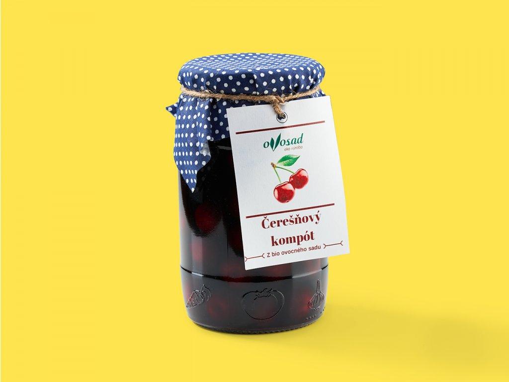 Ceresnovy kompot ovosad ZeZahora lokalne potraviny