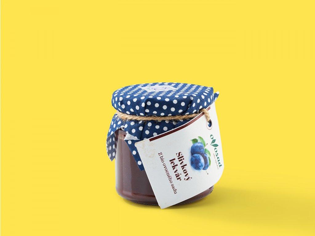 Slivkovy lekvár 150g ovosad ZeZahora lokalne potraviny