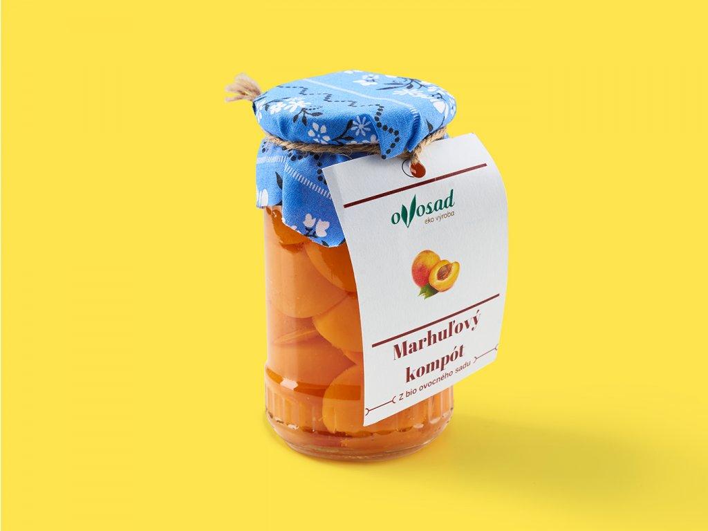 Marhulovy kompot ovosad ZeZahora lokalne potraviny
