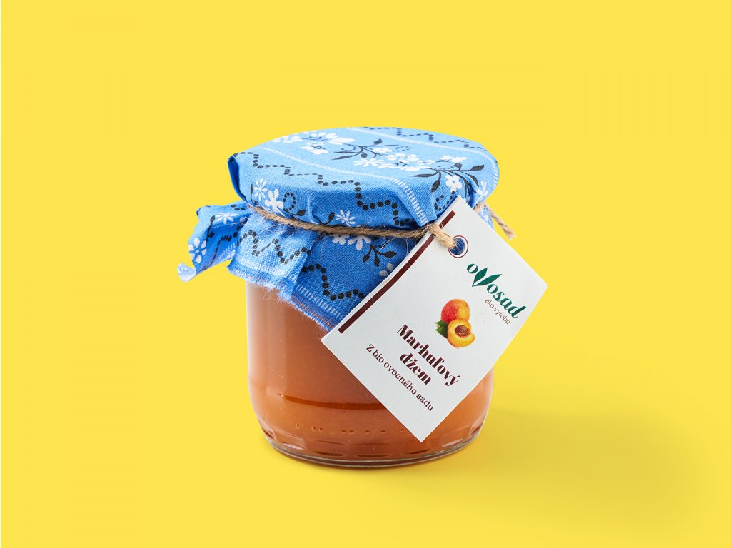 Marhulovy dzem 200g ovosad ZeZahora lokalne potraviny