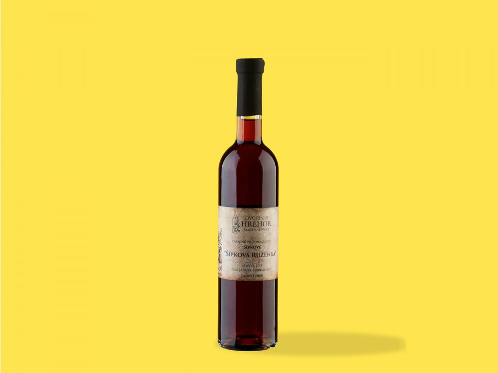 Ovocne vino Sipkove %22sipkova ruzenka%22 hrehor ZeZahora lokalne potraviny
