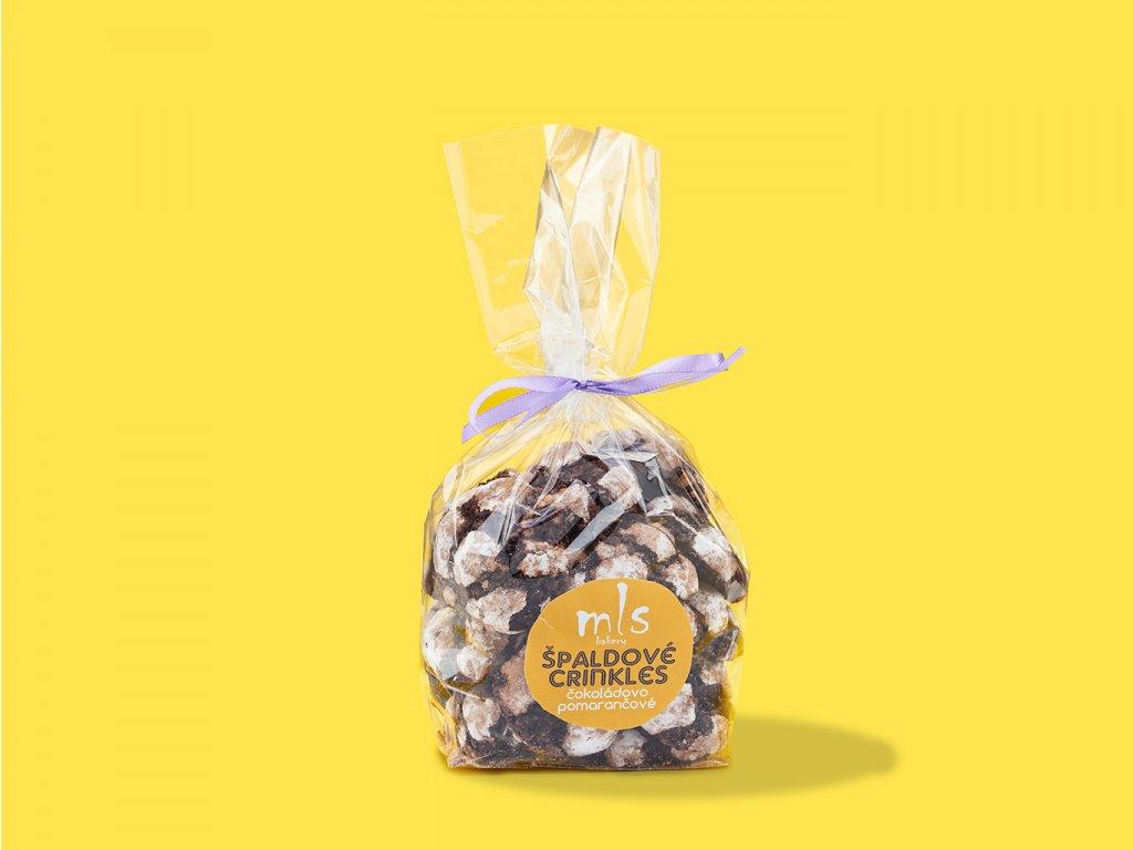 Spaldove crinkles cokoladovo pomarancove ZeZahora lokalne potraviny