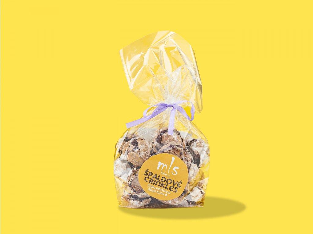 Spaldove crinkles cokoladovo skoricove ZeZahora lokalne potraviny