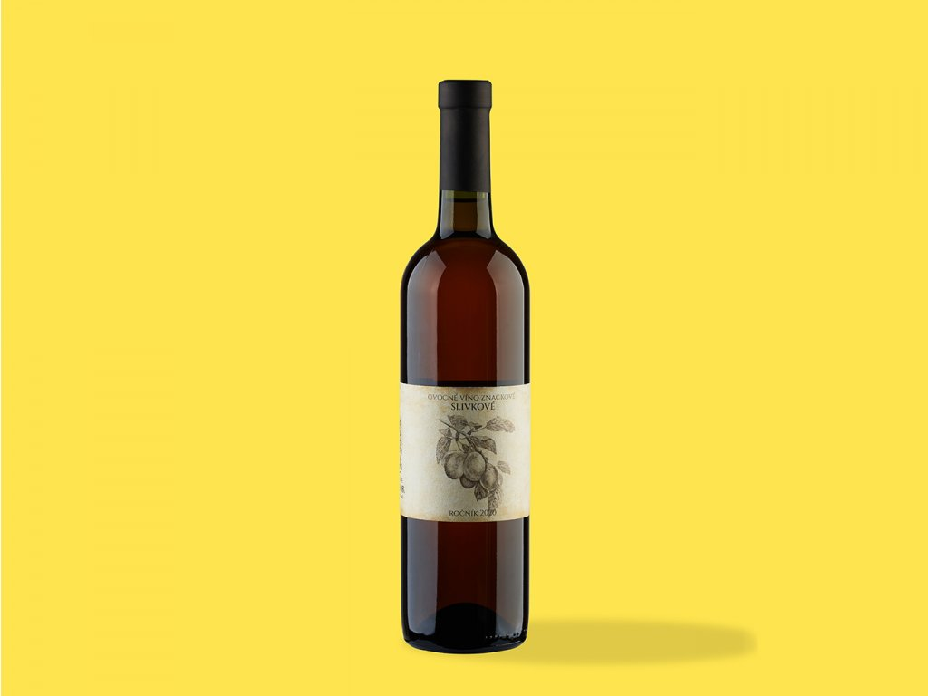 Ovocne vino slivkove hrehor ZeZahora lokalne potraviny
