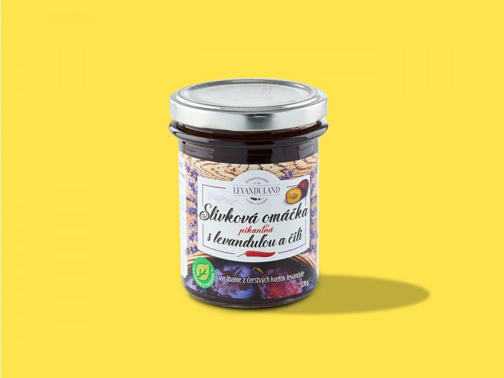 Slivkova omacka s levandulou a cili ZeZahora lokalne potraviny