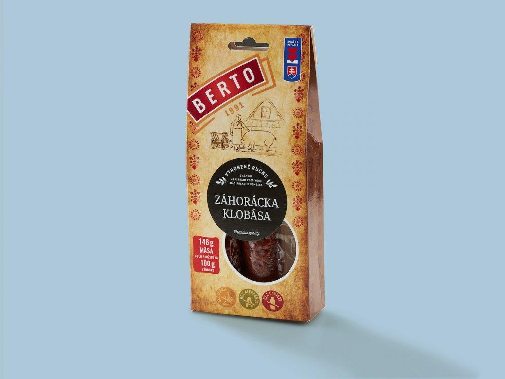 Berto zahoracka klobasa 200g (v krabičke) ZeZahora lokalne potraviny