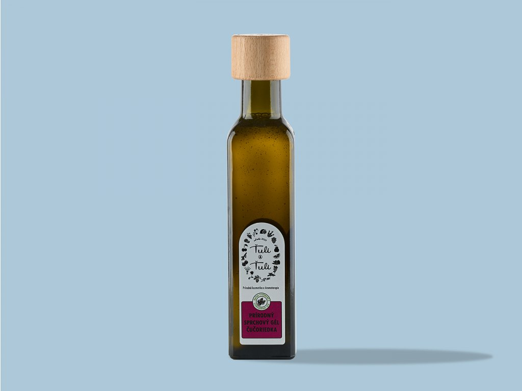 Prirodny sprchovy gel cucoriedka ZeZahora lokalne potraviny