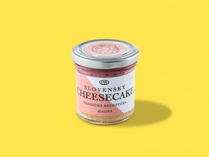 Cheesecake malina ZeZahora lokalne potraviny