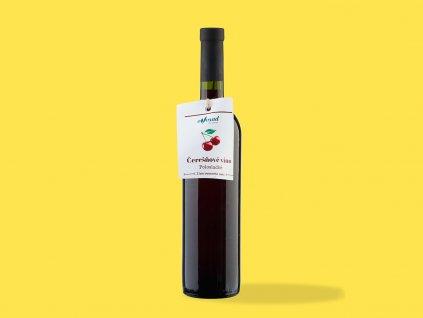 Ceresnove vino polosladke ZeZahora lokalne potraviny