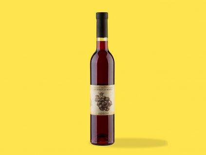 Ovocne vino z ciernych ribezli 2020 Hrehor ZeZahora lokalne potraviny