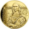 Zlatá mince Mona Lisa 2019-proof