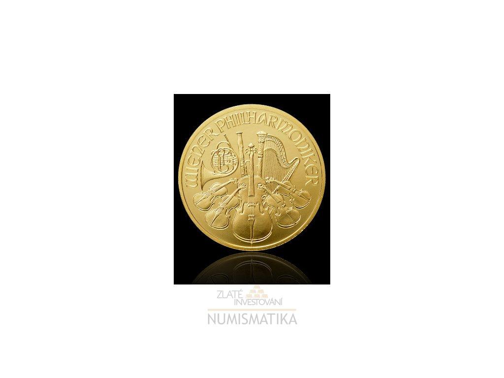 Investiční zlatá mince Philharmoniker 1 Oz
