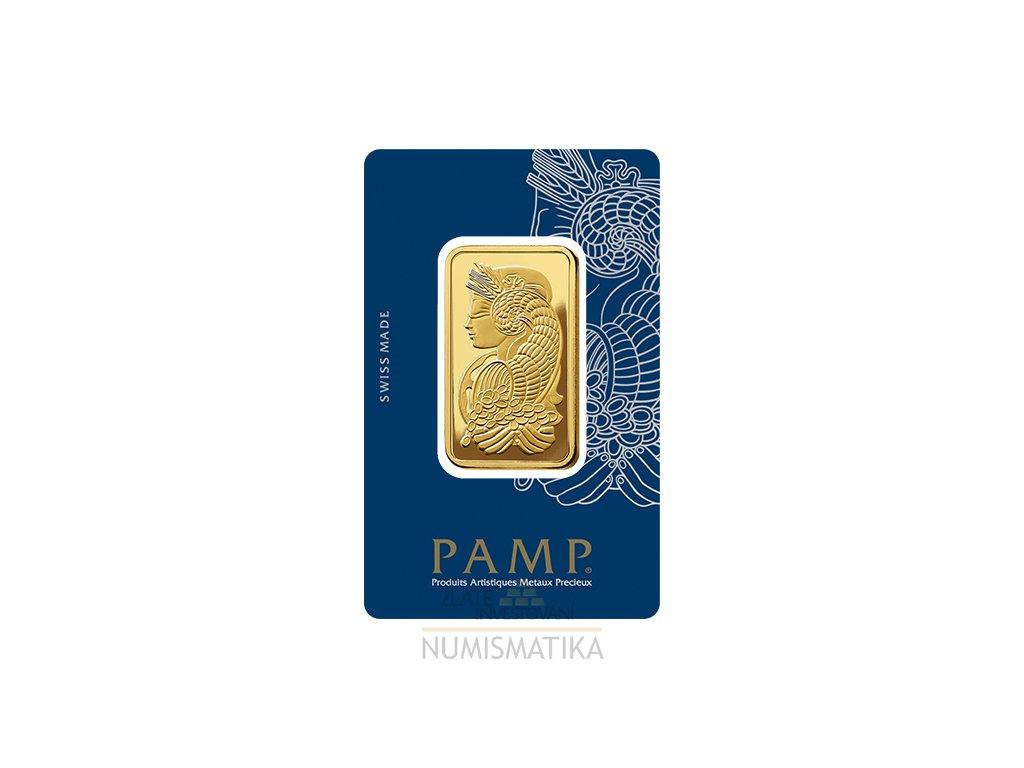 Investiční zlatý slitek PAMP Fortuna 1 Oz