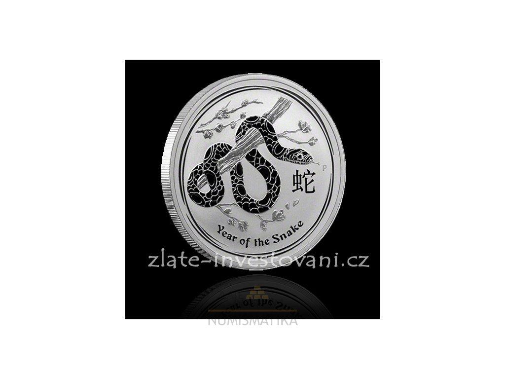 2402 investicni stribrna mince rok hada 2013 10 oz