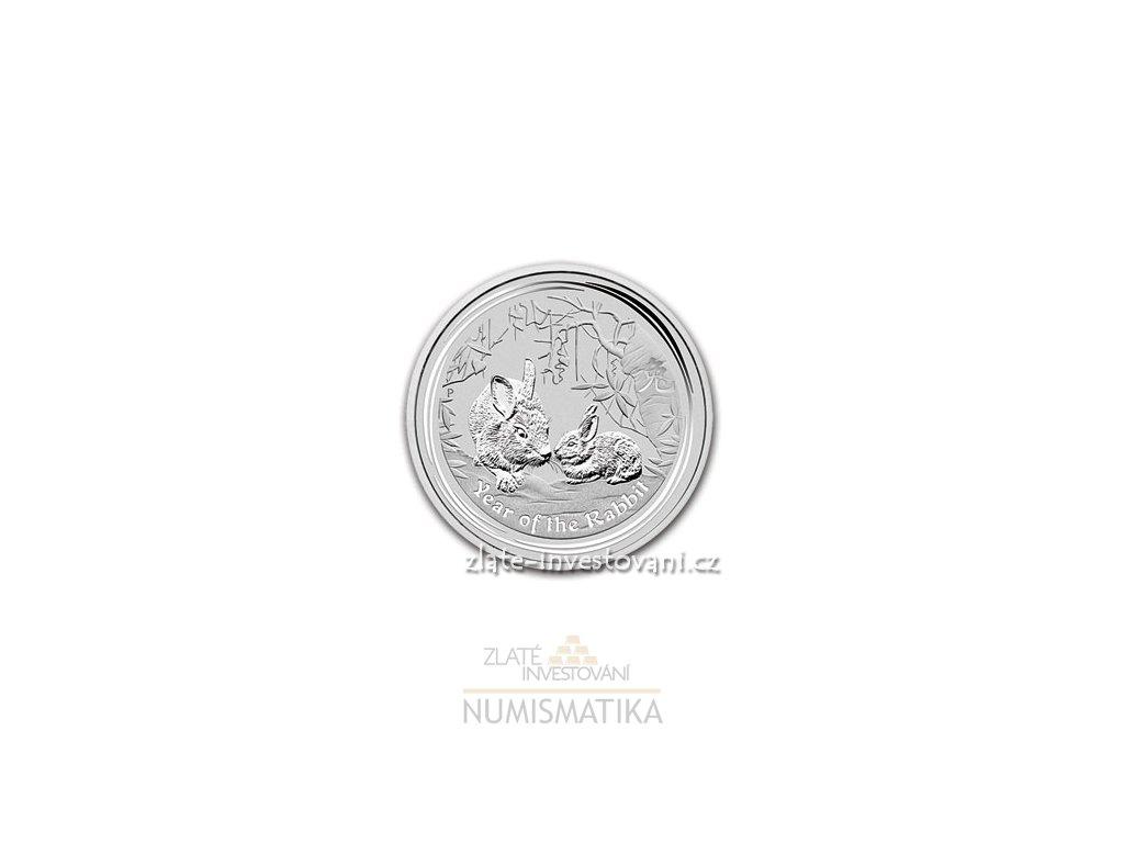 2615 investicni stribrna mince rok kralika 2011 2 oz