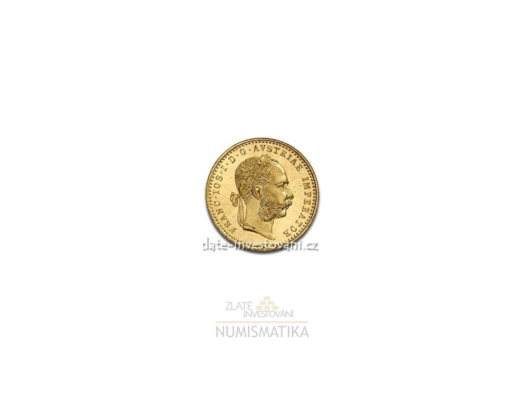 Zlatý Dukát Františka Josefa I. -novoražba 1915