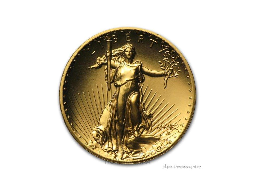 3008 investicni zlata mince americky double eagle 2009 ultra vysoky relief 1 oz