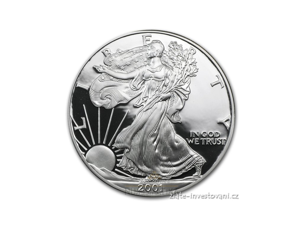 3017 investicni stribrny americky eagle proof 1 oz