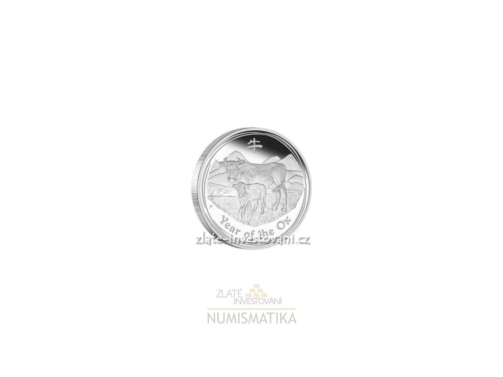 3215 investicni stribrna mince rok buvola 2009 1 oz