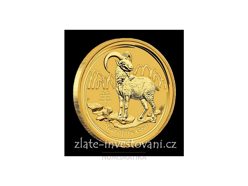 3545 investicni zlata mince rok kozy 2015 1 oz