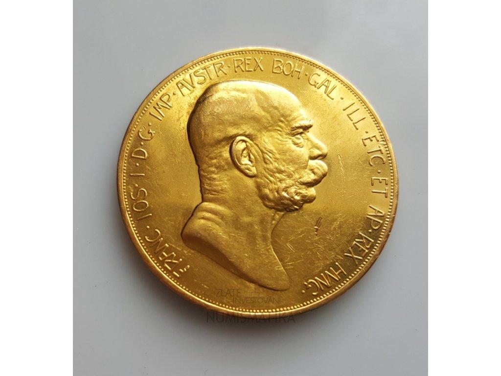 Zlatá jubilejní Stokoruna Františka Josefa I.-ročník 1908-Dáma na nebesích
