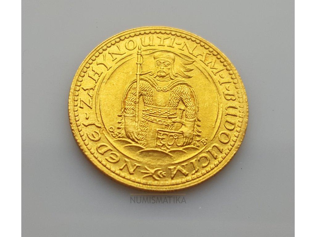 Zlatý svatováclavský dukát 1927