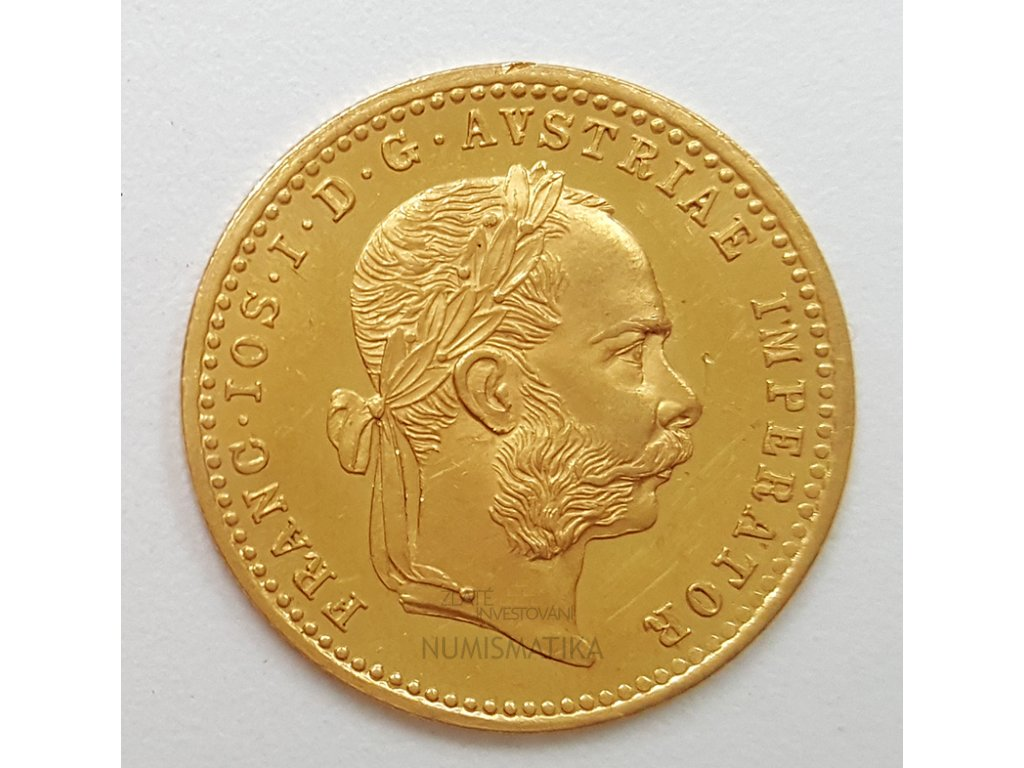 Zlatý Dukát  František Josef I. 1896