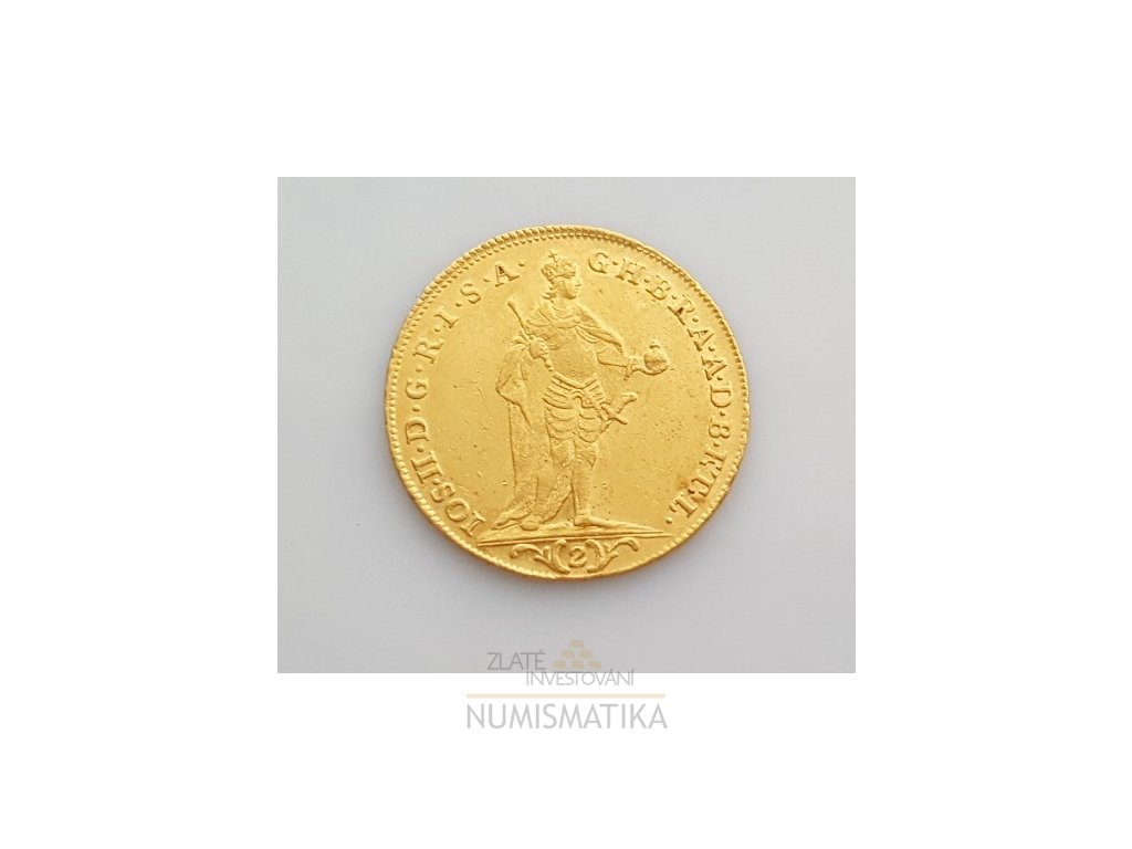 Zlatý 2 dukát 1784 Josef II.