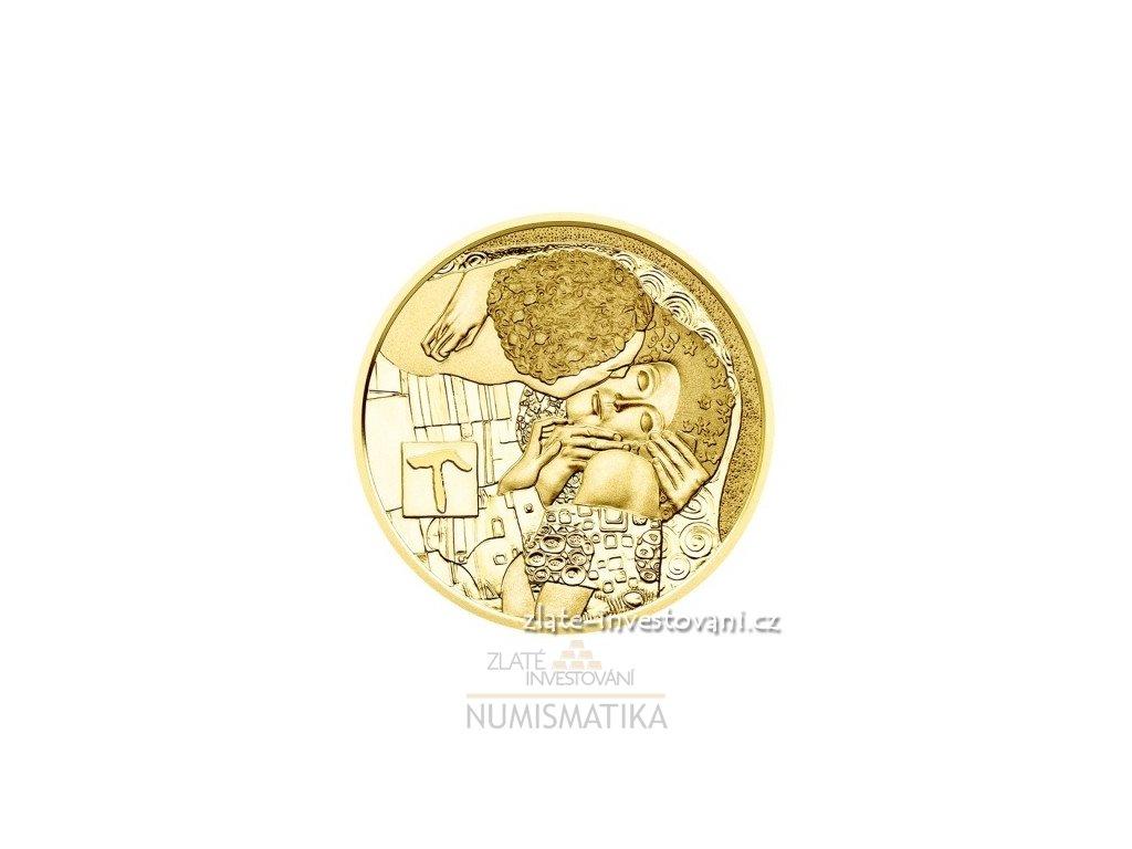 4985 zlata mince polibek klimtova serie 2016