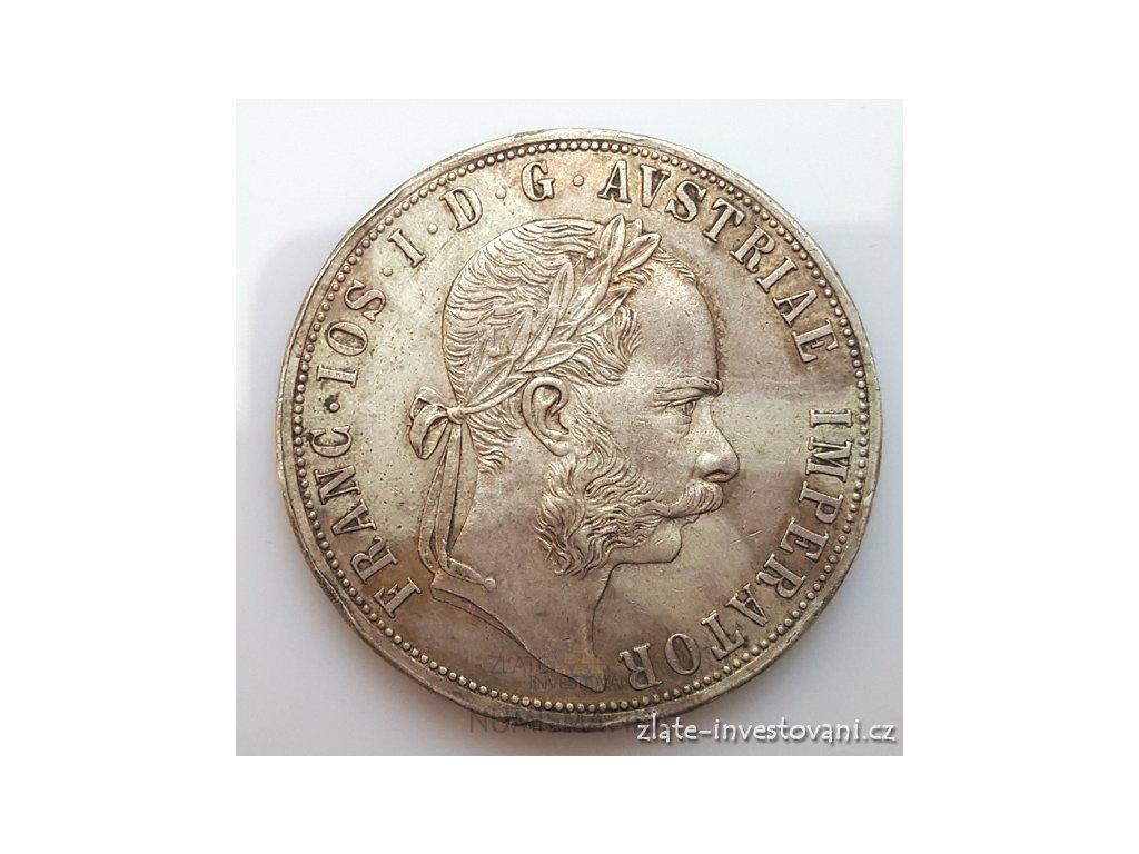 5120 stribrny 2 zlatnik frantiska josefa i 1888