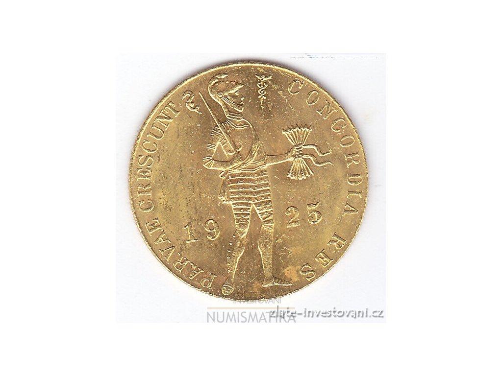5255 zlaty nizozemsky dukat 1925