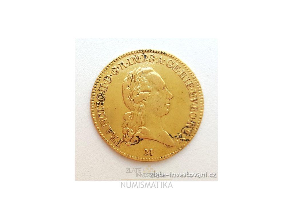 Zlatá mince Sovráno-1800 M-František I.