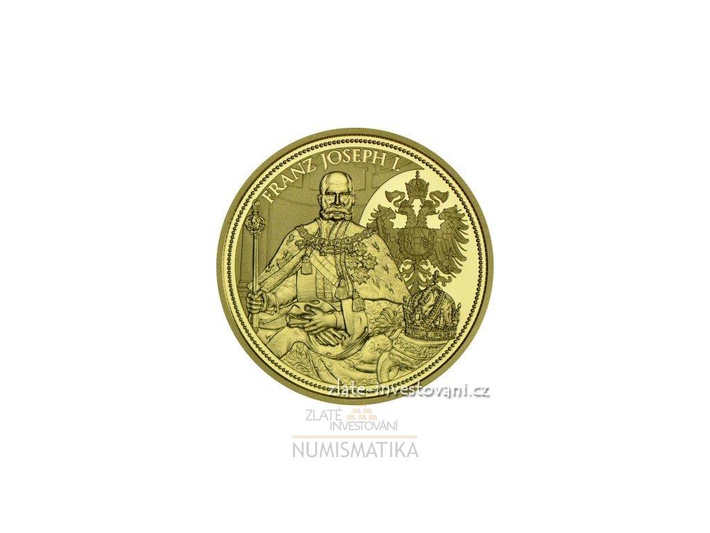 5786 zlata mince cisarska koruna svateho frantisek josef i 2012 100 eur