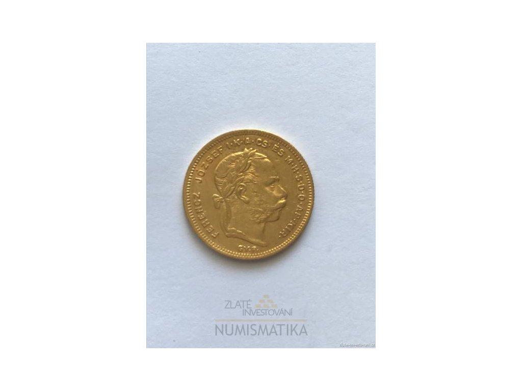 5915 zlata mince osmizlatnik frantiska josefa i uherska razba 1870 gyf