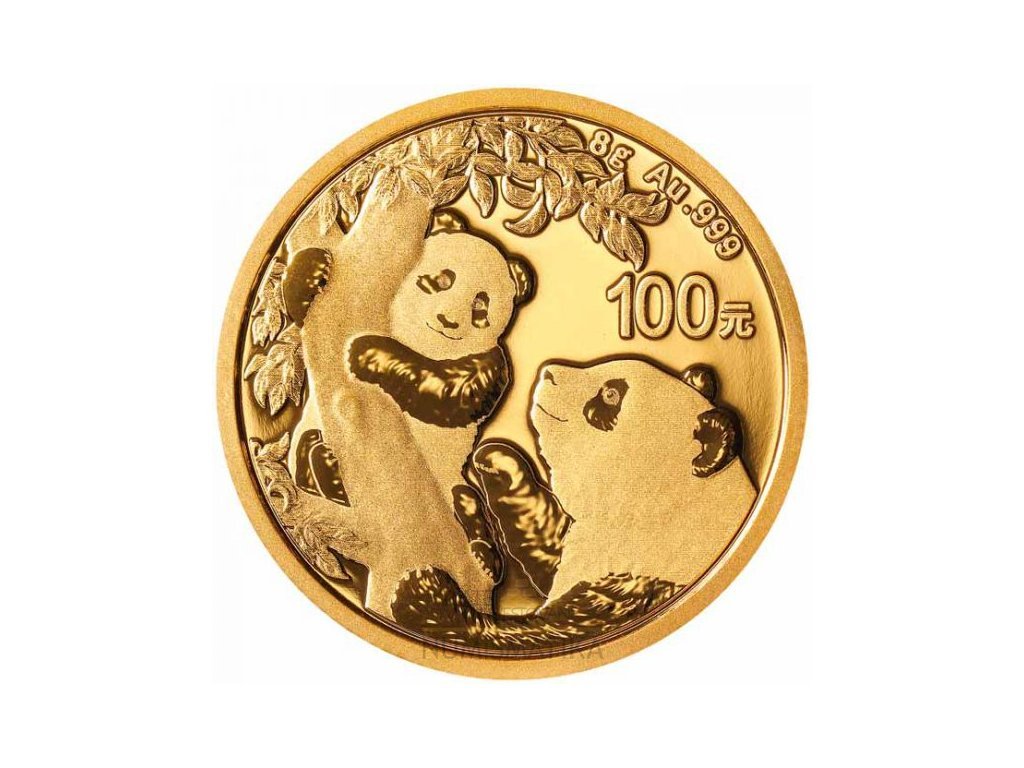investiční zlatá mince Panda 2021
