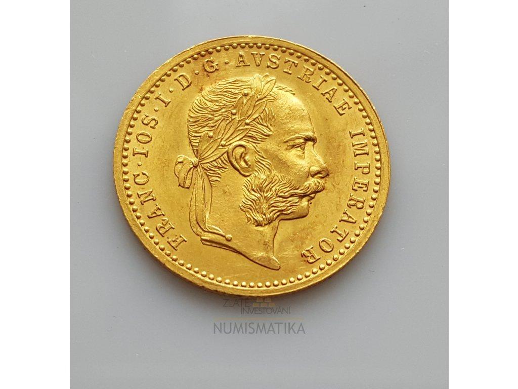 Zlatý dukát Františka Josefa I.-1911