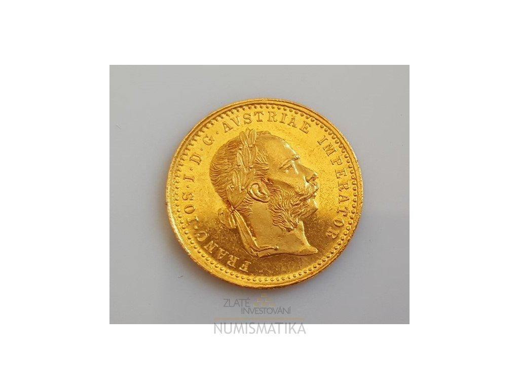 Zlatý dukát 1888 RL