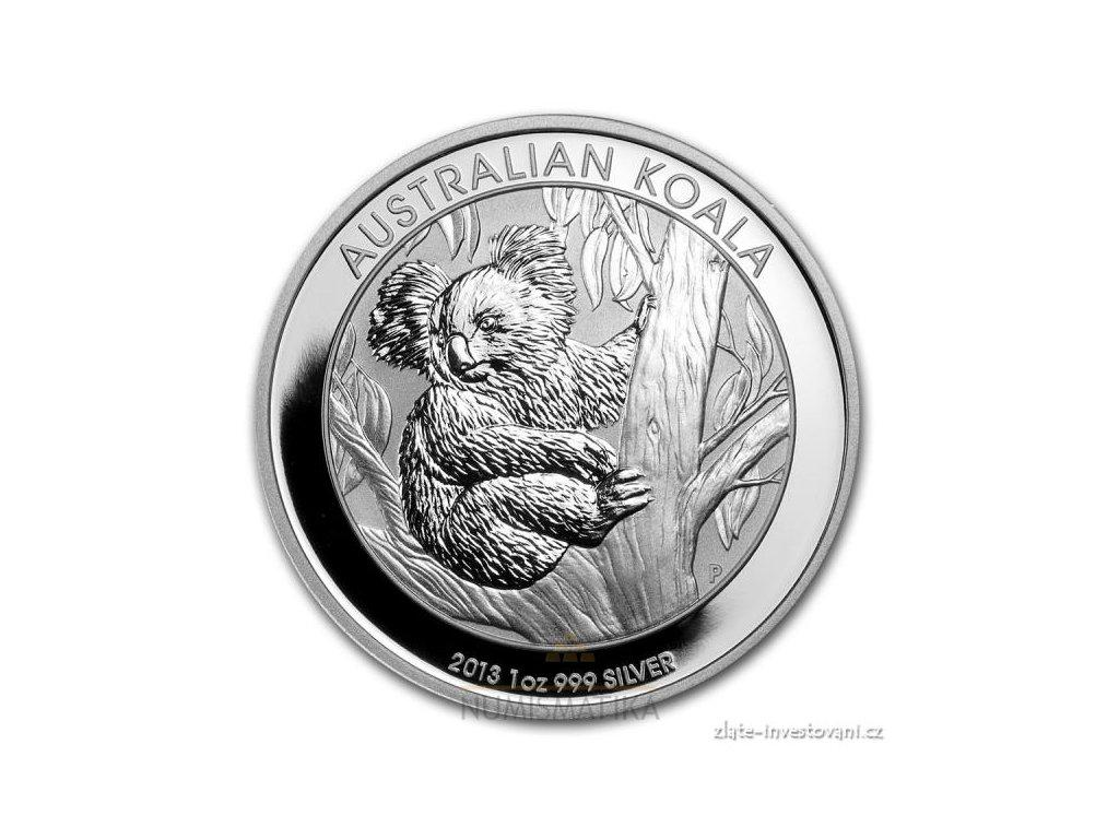 6101 investicni stribrna mince koala 2013 1 oz