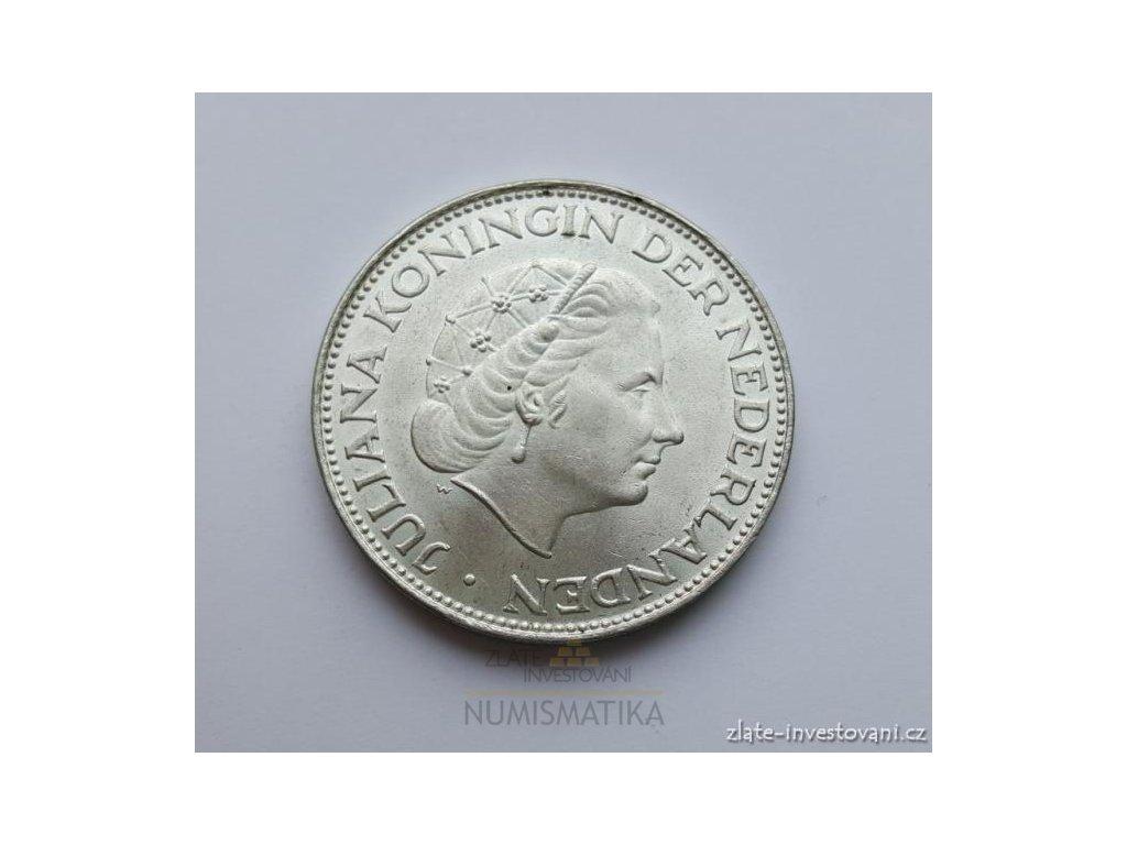 6305 stribrny 2 1 2 gulden kralovna juliana
