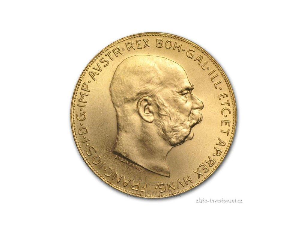 6329 zlata mince stokoruna frantiska josefa i 1915
