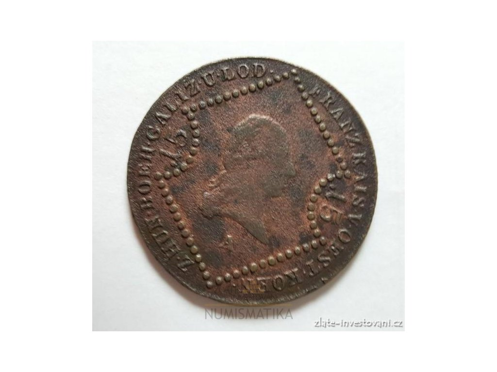 6413 rakousko uhersky 15 krejcar frantisek i 1807 a