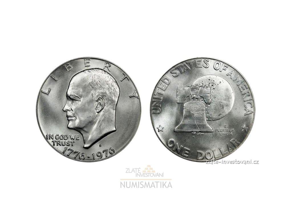 6446 americky dollar 1776 1976 vyrocni eisenhowever