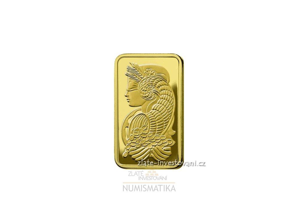 Investiční zlatý slitek PAMP Fortuna 250g
