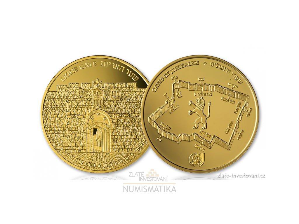 6503 2 zlata mince lvi brana serie brany jeruzalema 2018 1 oz